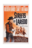 Streets of Laredo  from Left: William Holden  William Bendix  Macdonald Carey  Mona Freeman  1949