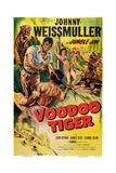 Voodoo Tiger  Johnny Weissmuller (Left)  1952