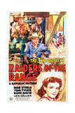 Raiders of the Range  from Top Left: Tom Tyler  Rufe Davis  Bob Steele  Lois Collier  1942