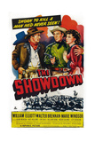 The Showdown  from Left: Walter Brennan  Bill Elliott  Marie Windsor  1950