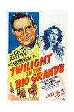 Twilight on the Rio Grande  from Left: Gene Autry  Adele Mara  1947