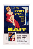 Bait  Top from Left: Cleo Moore  John Agar  Bottom Right: Cleo Moore  1954