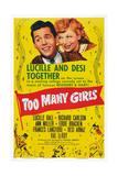 Too Many Girls  from Left: Desi Arnaz  Lucille Ball  1940