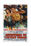 Adventures of Captain Fabian  from Left: Micheline Presle  Errol Flynn  1951