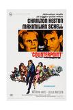 Counterpoint  Top from Left  Charlton Heston  Maximilian Schell  1967