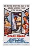 Billy Budd  Robert Ryan  Peter Ustinov  Terence Stamp  1962