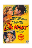 The Long Night  Top  from Left: Barbara Bel Geddes  Henry Fonda  1947