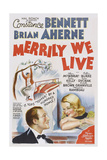 Merrily We Live  from Left: Brian Ahern  Constance Bennett  1938
