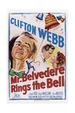 Mr Belvedere Rings the Bell  from Left: Clifton Webb  Hugh Marlowe  Joanne Dru  1951