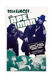 The Ape Man  Bottom from Left: Bela Lugosi  Henry Hall  1943