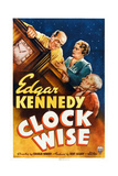 Clock Wise  from Left: Edgar Kennedy  Vivien Oakland  Billy Franey  1939