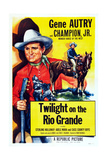 Twilight on the Rio Grande  Gene Autry  1947