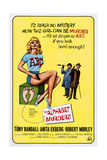 The Alphabet Murders  from Left: Anita Ekberg  Robert Morley  Tony Randall  1965
