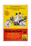 Harold and Maude  Ruth Gordon  Bud Cort  1971