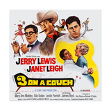 3 on a Couch  (Aka Three on a Couch)  from Left: Jerry Lewis  Janet Leigh  1966