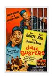 Jail Busters  Top L-R: Leo Gorcey  Huntz Hall  Bottom L-R: Huntz Hall  1955
