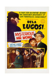 The Mysterious Mr Wong  Bela Lugosi  Arline Judge  Wallace Ford  1934
