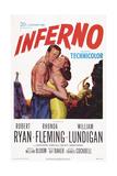 Inferno  from Left: William Lundigan  Rhonda Fleming  Robert Ryan  1953