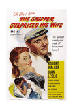 The Skipper Surprised His Wife  from Top: Joan Leslie  Robert Walker  1950