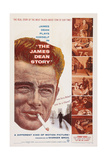 The James Dean Story  Left: James Dean  1957