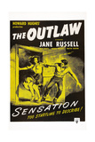 The Outlaw  L-R: Jane Russell  Jack Buetel  1943