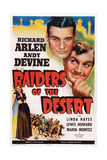 Raiders of the Desert Ar  from Bottom Left: Maria Montez  Richard Arlen  Andy Devine  1941