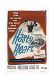 The Hasty Heart  from Left: Ronald Reagan  Patricia Neal  Richard Todd  1949
