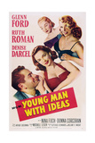 Young Man with Ideas  from Left: Glenn Ford  Ruth Roman  Nina Foch  Denise Darcel  1952
