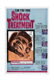 Shock Treatment  Right from Top: Stuart Whitman  Carol Lynley  Roddy Mcdowall  Lauren Bacall  1964