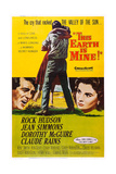 This Earth Is Mine  from Left: Rock Hudson  Jean Simmons  1959