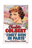 I Met Him in Paris  Claudette Colbert  1937