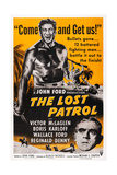 The Lost Patrol  Top: Victor Mclaglen; Bottom: Boris Karloff  1934