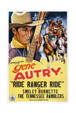 Ride  Ranger  Ride  Gene Autry  1936