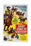 Night Stage to Galveston  Left: Gene Autry  1952