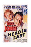 Headin' East  from Left: Ruth Coleman  Buck Jones  1937