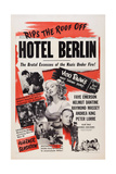 Hotel Berlin  Center: Faye Emerson; Below: Peter Lorre  1945
