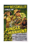 Jungle Manhunt  from Left  Sheila Ryan  Johnny Weissmuller  1951