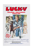 The Amazing Dobermans  (Aka Lucky)  L-R: Fred Astaire  James Franciscus  Barbara Eden  1976