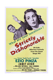 Strictly Dishonorable  from Left  Ezio Pinza  Janet Leigh  1951