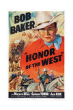 Honor of the West  Top: Bob Baker  1939