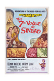 The 7th Voyage of Sinbad  from Left: Kathryn Grant  Kerwin Mathews  1958