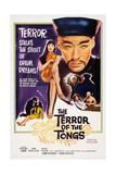 The Terror of the Tongs  from Left: Yvonne Monlaur  Christopher Lee  1961