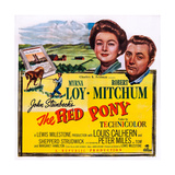 The Red Pony  from Left: Myrna Loy  Robert Mitchum  1949