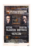 Papillon  from Left Steve Mcqueen  Dustin Hoffman  1973