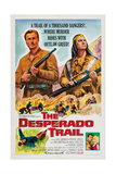 The Desperado Trail  from Left: Lex Barker  Pierre Brice  1965