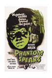 The Phantom Speaks  Stanley Ridges (Left)  Right from Top: Richard Arlen  Lynne Roberts  1945
