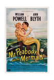 Mr Peabody and the Mermaid  from Left: Ann Blyth  William Powell  1948