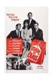 Made in Paris  from Left: Chad Everett  Ann-Margret  Richard Crenna  Louis Jourdan  1966