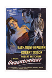 Undercurrent  from Left: Katharine Hepburn  Robert Taylor  1946