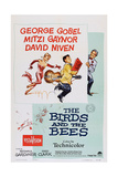 The Birds and the Bees  from Left: Mitzi Gaynor  George Gobel  David Niven  1956